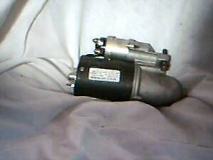 New Starter Motor and Parts
