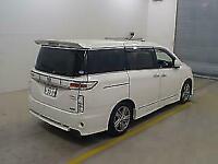 Nissan Elgrand E52 rider sunroof japanese import 3.5cc auto 7 seater 2010