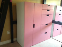 Cabinet and Drawers
