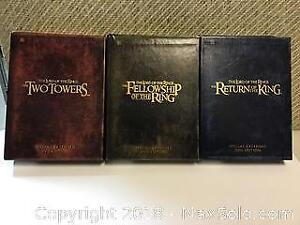 Lord of the Rings trilogy DVD sets