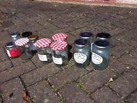 Selection of Jam jars