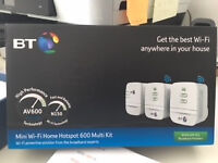 BT Mini Wi-Fi Home Hotspot 600 Multi Kit Booster