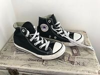 BLACK GENUINE CONVERSE BOOTS SIZE 13