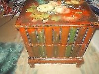 """NICE 2 DRAW BEDSIDE CABINET * CUPBOARD * TABLE * STORAGE 14"""" WIDE + 15"""" TALL ** CLACTON CO156AJ"""
