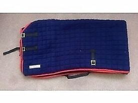 For your horse. Original Thermatex 6ft 9 cooler rug. Immaculate condition hardly used.