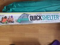 Brand new quick shelter