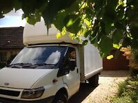 Man & Van for hire (2 men available if needed)