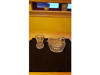 3 piece crystal set, only £2
