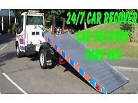 vehicle breakdown recovery service Guildford Surrey car delivery 24/7 all over uk