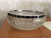 Crystal Fruit/Trifle Bowl