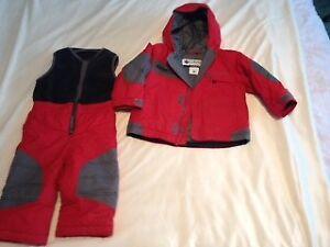 Snow Suit, Columbia, 2 piece size 2T