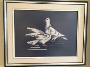 Needle Point Doves London Ontario image 1