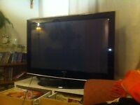 Samsung Flat Screen PDP TV. 43 inch. Great condition. Remote control. Scart/HDMI. Stand.