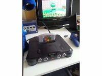 N64 Console still available, Rare Passport Plus 3 Mario cartridge.