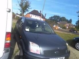 Ford fusion 1.4 2003, available - in Barnet London