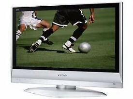 Silver Panasonic 37 inch TV HD Ready 50Hz with Freeview built in, 2 x HDMI not 39 40 43