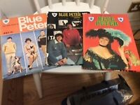 BLUE PETER BOOKS x 3