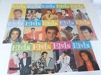 ELVIS UK MONTHLY MAGS x 14