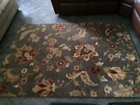 Two 5' by 7' area rugs