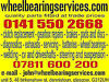Wheelbearings-driveshafts-clutches-gearboxes-welding-steering,CAR REPAIRS, SERVICING AND MOT WORK Glasgow