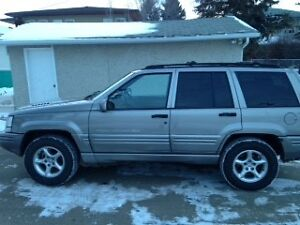 1998 Jeep Grand Cherokee Limited 5.9 SUV, Crossover