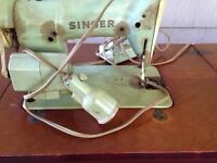 Old old singer sewing machine
