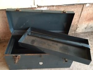 Antique Strong Tool Box - by Beach ***Price Drop***