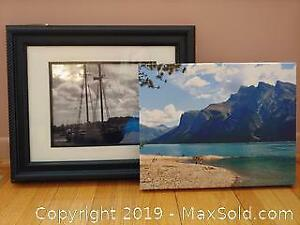 Canvas Print And Framed Photo Of Bluenose
