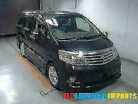 FRESH IMPORT 2008 FACE LIFT TOYOTA ALPHARD 4WD 3.0 VVTI AUTO SUNROOF
