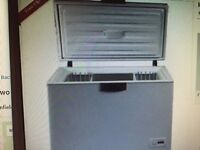 Two Years Old Ice King Chest Freezer,also Stainless steel Upright Fridge/freezer and more