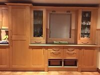 Quality kitchen units - solid maple wood doors - lots of units