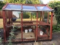 Free Greenhouse Glass and Staging