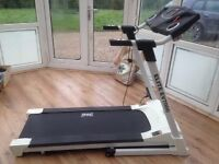 Treadmill, 1 year old, Used very little, Perfect condition & Running condition, Study & Foldable,