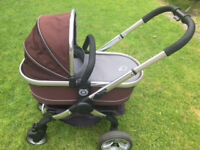 iCandy Peach Stroller & Cot set - Well used but immaculately clean