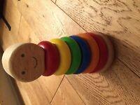 Ring sorter toy