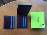 NEW boxed Ted Baker brown wallet