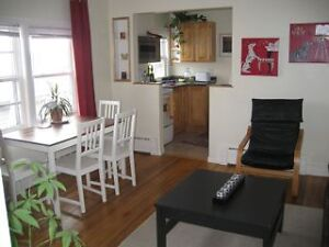 JANUARY : COZY FURNISHED ONE BEDROOM HALIFAX SOUTH