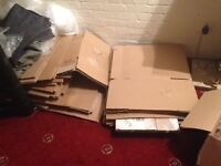 30 Cardboard boxes - used once. In good condition