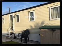 3 bed family, extra-wide, modern caravan for hire treccobay, porthcawl