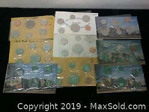 9 Canadian Proof Like Coin Sets From RCM ...W