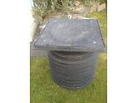 450mm Manhole Inspection Chamber - Riser x 2, Lid x 1