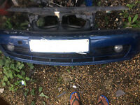 bmw e46 coupe front se bumper complete or slam panel for sale or fitted thanks