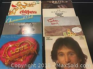 9 Record Albums Eclectic Mix