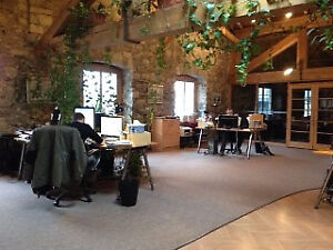 Coworking in Old Montreal / Magnificent Office Space to Sublease