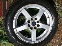 15'' alloy wheels