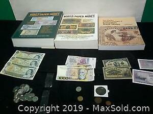 Foreign bank notes, Canadian dollars, catalog of paper money