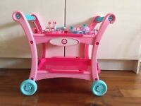 Fantastic Toy Tea Trolley with an amazing selection of Toy Kitchen Accessories
