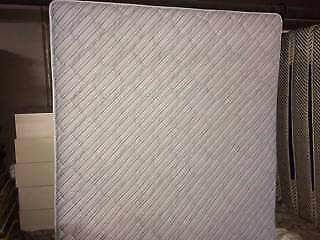 Ex-Hotel  Sealy  King Mattress in Light Blue For Sale -   $100