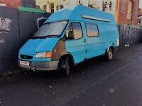 Fully converted LWB Ford Transit Campervan
