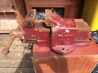 Vintage Record Steel Vice No 83